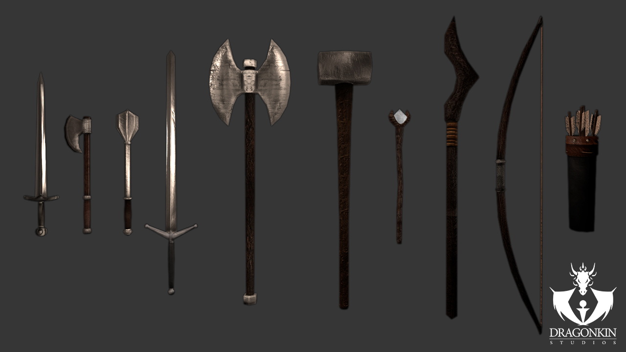 Mongrels Arena 1st weapon set