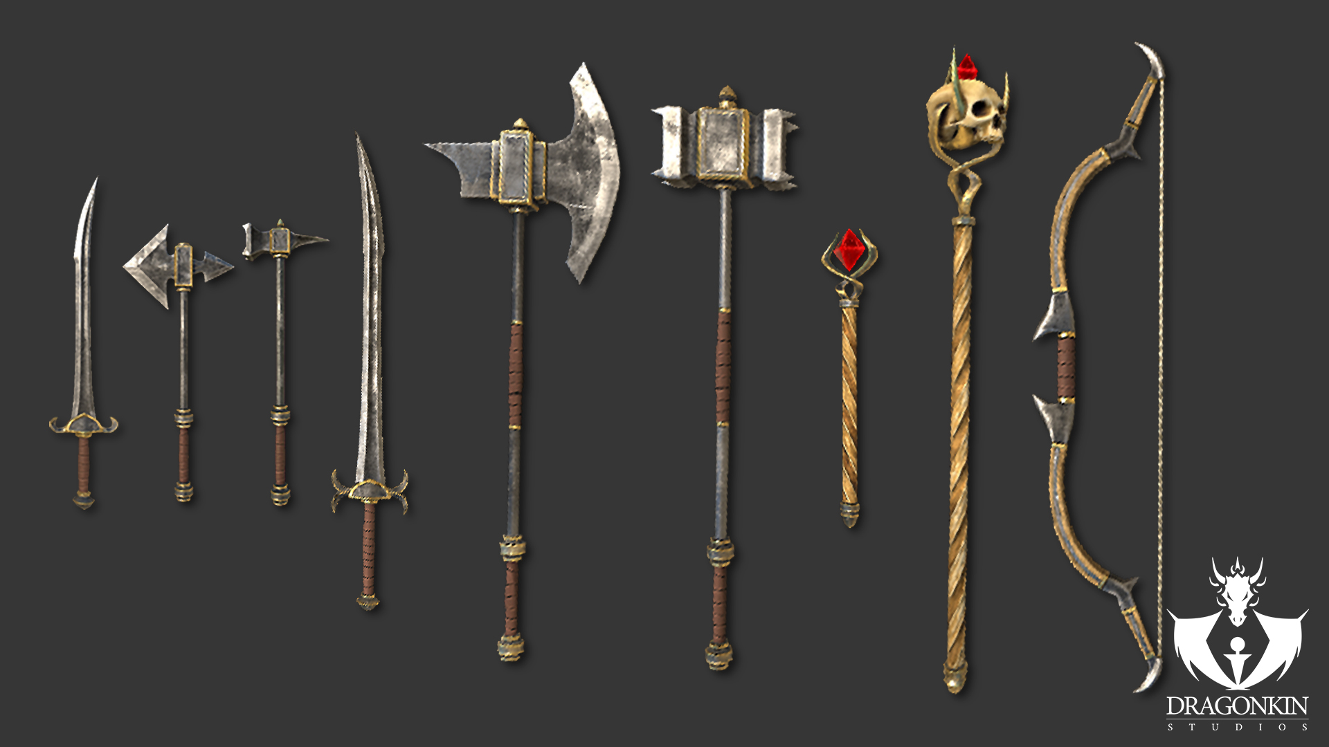 Mongrels Arena 2nd Weapons Set