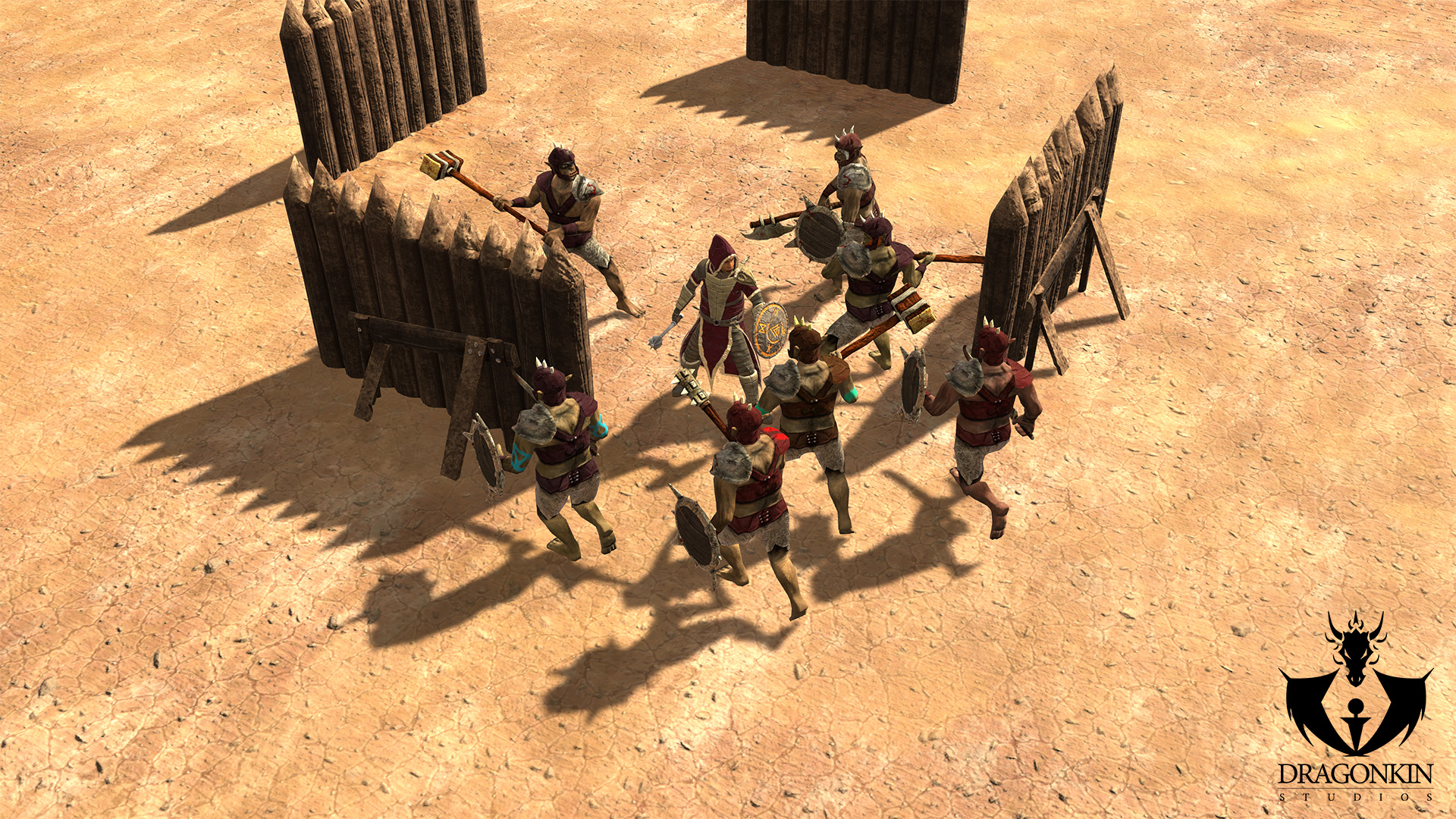 Mongrels Arena Fight Orcs